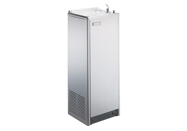 Image for Halsey Taylor Floor Mount Cooler, Non-Filtered 8 GPH Stainless from Halsey Taylor