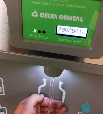 Elkay Installation Services - ezH2O bottle fillers - Delta Dental Case Study