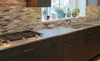 Custom stainless steel kitchen solutions elkay residential stainless steel seamless sink top workwithnaturefo