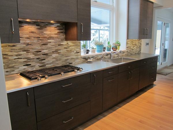 Residential Stainless Steel Seamless Sink Top. Elkay Custom Stainless  Solutions