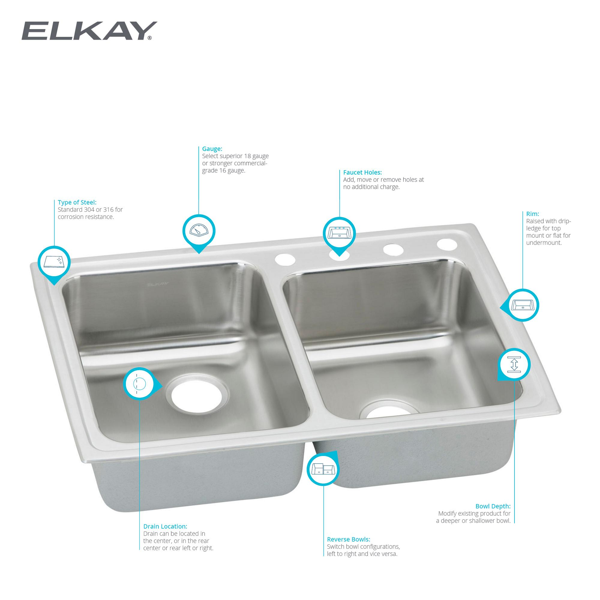 custom stainless steel kitchen solutions elkay