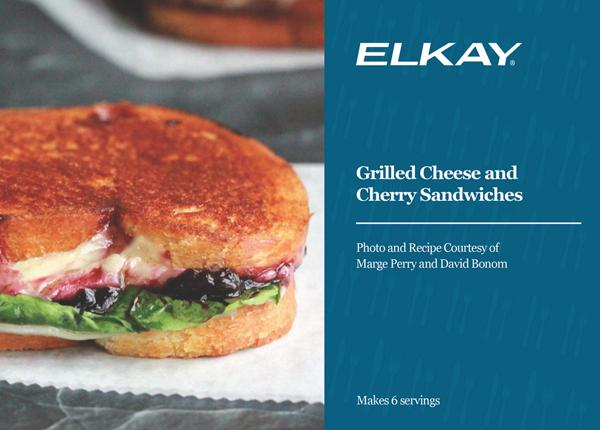 Grilled Cheese and Cherry Sandwiches