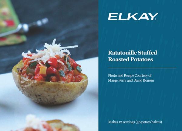 Ratatouille Stuffed Roasted Potatoes