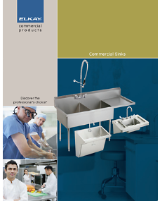 Commercial Sinks Catalog (F-4227)