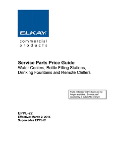 Service Parts Price Guide (EPPL-22)