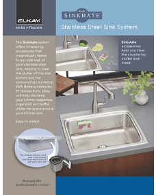 SinkMate Sell Sheet (F-4589)