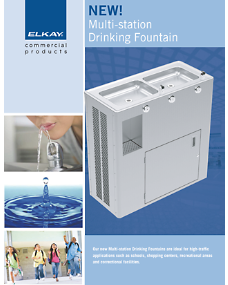 Multi-station Drinking Fountain (F-4602)