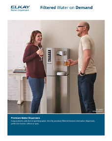 Premium Water Dispensers Sell Sheet (F-4681)