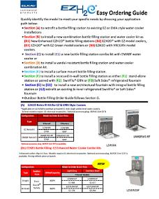 EZH2O Order Guide (F-4375)