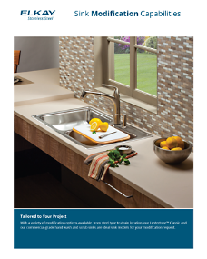 Custom Sink Modification Sell Sheet (F-4843)