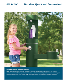 Outdoor Tubular Drinking Solutions Sell Sheet (F-4860)