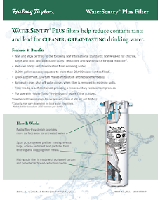 HT-0047 WaterSentry Plus Sell Sheet