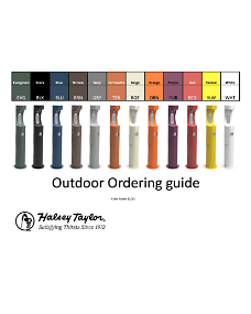 Outdoor Ordering Guide