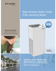 High Ambient Water Cooler Floor Standing (F-4683)