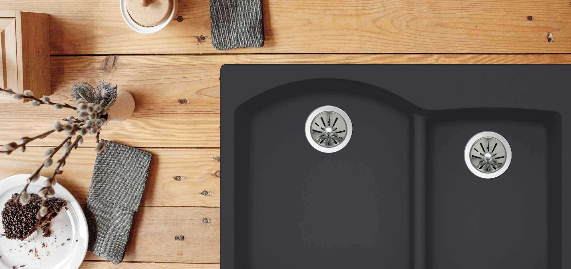 Quartz luxe kitchen sinks elkay workwithnaturefo