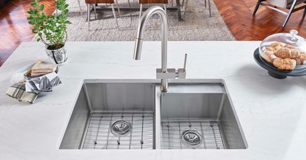 Exceptional Crosstown Stainless Steel Kitchen Sinks | Elkay