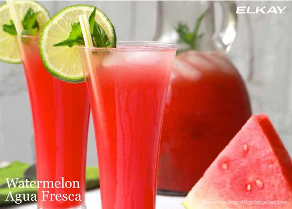 Watermelon Agua Fresca | Elkay Recipes