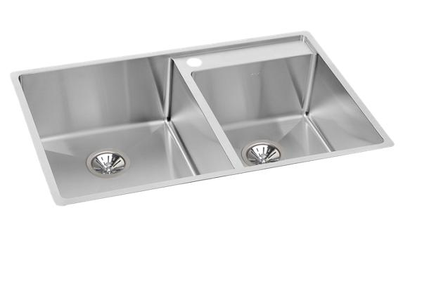 american standard offset double bowl sink kit costco elkay crosstown stainless steel 32 1 2 quot x 20 1 2 quot x 9 380
