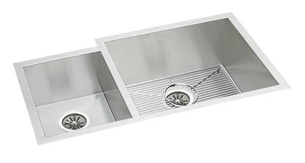 american standard offset double bowl sink kit costco elkay crosstown 16 stainless steel 35 1 4 quot x 20 1 2 380