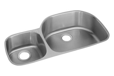 american standard offset double bowl sink kit costco elkay lustertone classic stainless steel 36 1 4 quot x 21 1 8 380