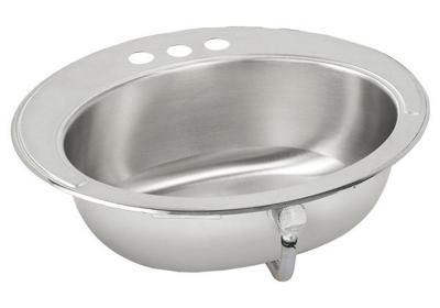 "Image for Elkay Asana Stainless Steel 19-5/8"" x 16-11/16"" x 6"", Single Bowl Drop-in Bathroom Sink from ELKAY"