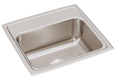 "Image for Elkay Lustertone Classic Stainless Steel 19"" x 18"" x 7-5/8"", Single Bowl Drop-in Sink from ELKAY"