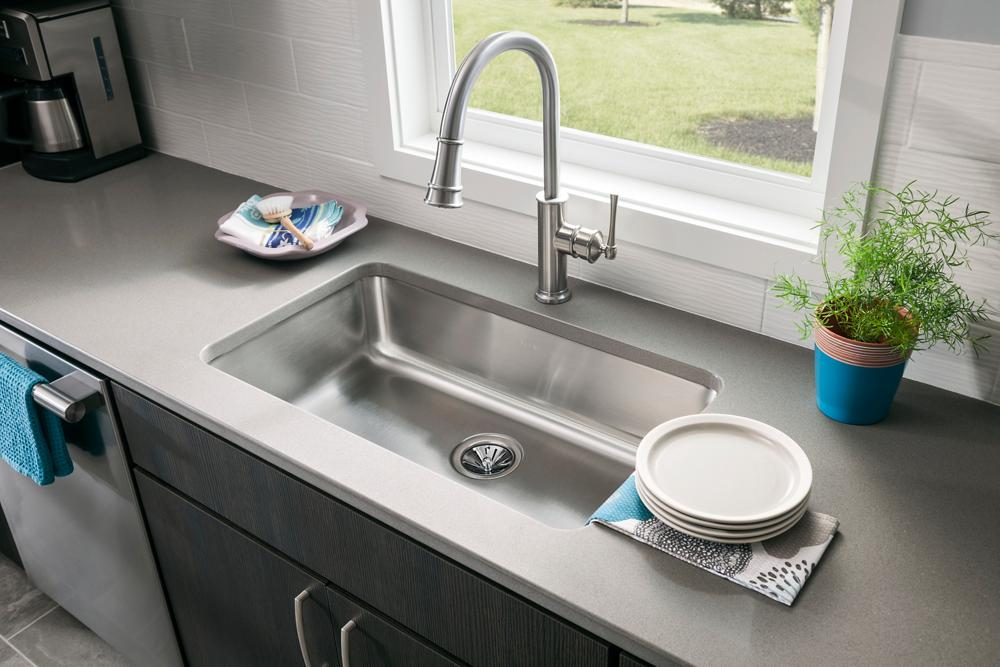 undermount sinks kitchen custom stainless steel kitchen solutions elkay 3031